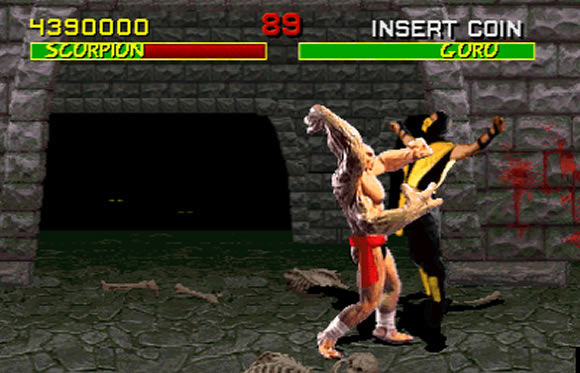 Goro, as seen in the original Mortal Kombat.